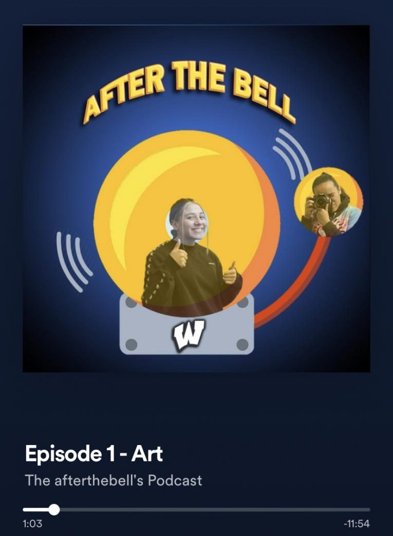 After the Bell is currently available on multiple streaming platforms, including Spotify and iTunes. Podcasts are posted in a timely manner after they are recorded end edited.