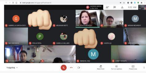 Physical Altercation Interrupts Google Meet