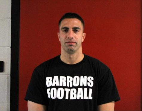 Mr. LaSala is the new gym teacher and the new football head coach. He was a student at Colonia High School and a teacher at other schools in  Woodbrdge School District.