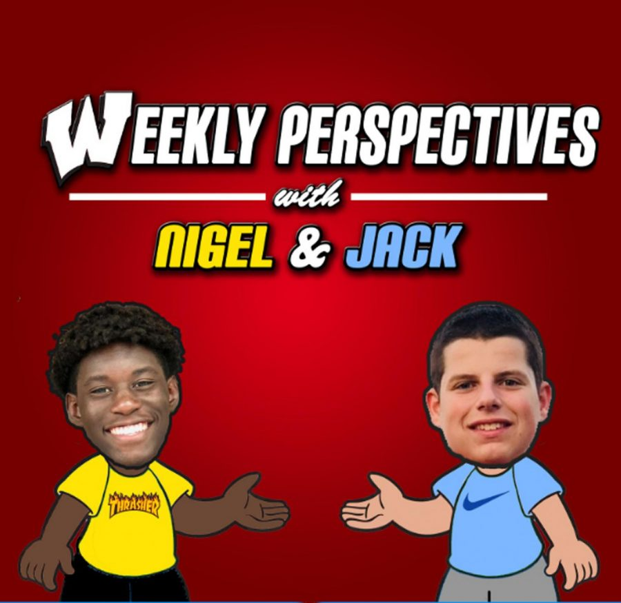 The+Weekly+Perspectives+with+Nigel+and+Jack+is+the+first+podcast+the+school+has+done.+The+first+episode+was+released+on+December+30%2C+2018.+