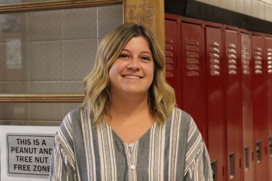 Ms. Klepchick is a new official addition to the Woodbridge High School English department. Last year, she solely worked as a substitute.