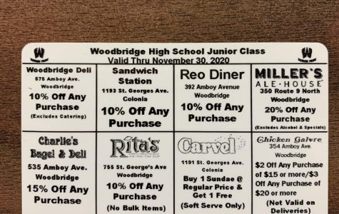 Junior Class Officers are selling discount cards to raise money. These discount cards have proven to be successful so far.