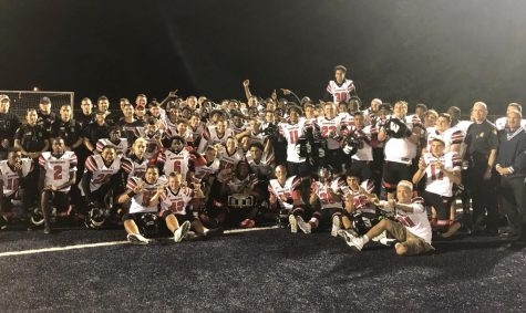 2019 Varsity Football Team Undefeated