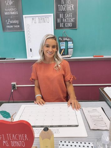 Ms.Depinto is a new Algebra I and Algebra II teacher. She attended Montclair State University