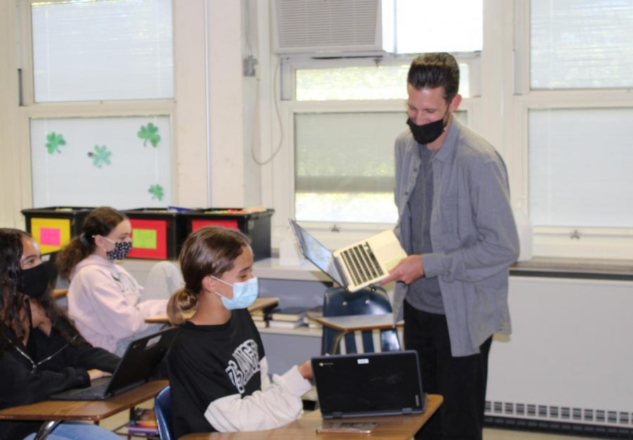 Mr. Toczynski, a new teacher at Woodbridge High School.